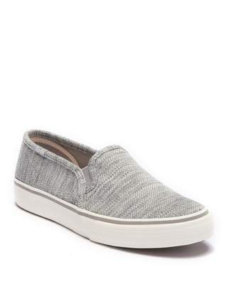 Keds Double Decker Twill Stripe Jersey Slip-On Sneaker
