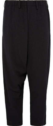 Issey Miyake Cropped Wool-Blend Bouclé Trousers