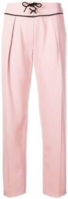 Emilio Pucci lace-up trousers