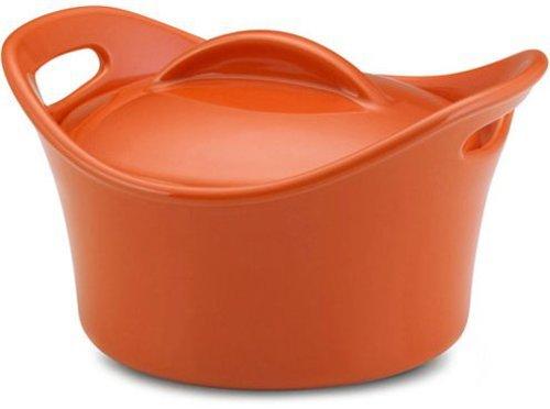 Rachael Ray 18-oz. Stoneware Souped Up Bowl, Orange