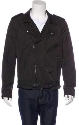 BLK DNM Woven Moto Jacket