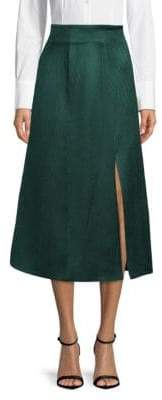Lanvin High-Rise Midi Skirt