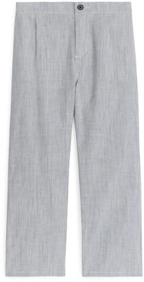 Arket Thin Stripe Trousers