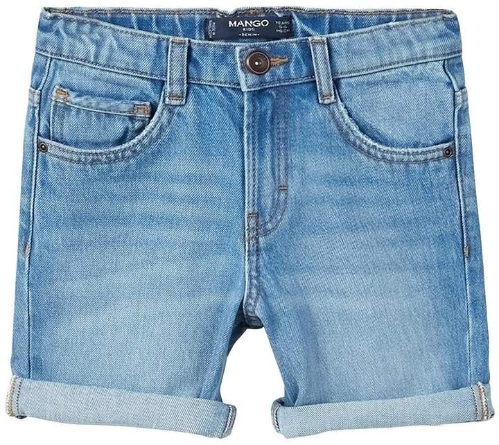 Boys Distressed Denim Shorts