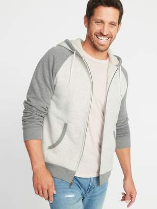 Old Navy Classic Sherpa-Lined Raglan Hoodie for Men