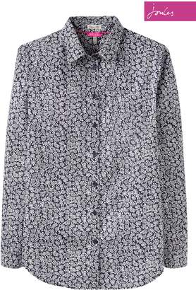 Next Womens Joules Navy Ditsy Lucie Print Shirt