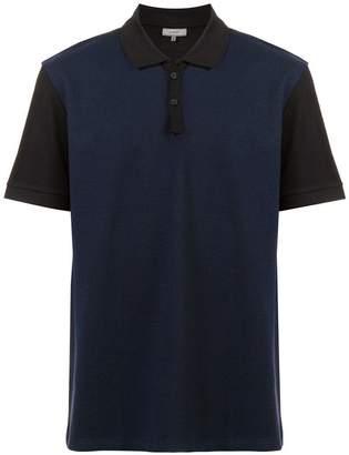 Lanvin colour-block polo shirt