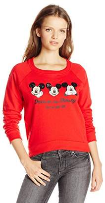 Disney Women's Mickey Mouse Wrapped Sweatshirt $15 thestylecure.com