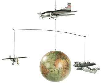 Around-the-World Flight Mobile Ornament