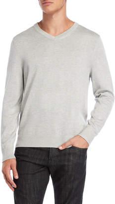 Nautica Solid V-Neck Sweater