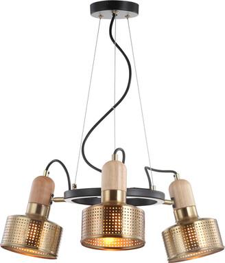 Jonathan Y Designs Gallery 22In 3-Light Adjustable Spotlight Metal Led Pendant