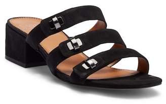Franco Sarto Arabesque Strappy Slide Leather Sandal