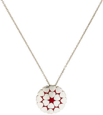 Tiffany & Co. Paloma Picasso Crown of Hearts Pendant Necklace $145 thestylecure.com
