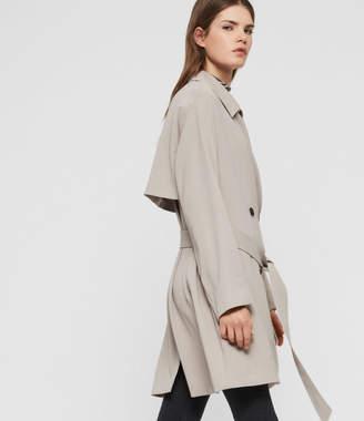AllSaints Nadria Trench Coat