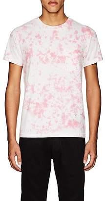 NSF Men's Tie-Dyed Cotton T-Shirt - Pink Size M