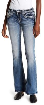Vigoss Medium Wash Flare Bottom Jeans