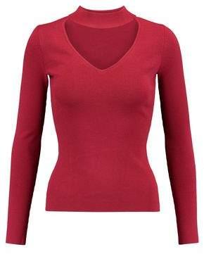 Autumn Cashmere Cutout Jersey Top