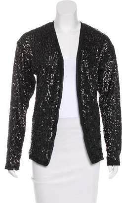 Wayne Embellished Mesh-Trimmed Jacket