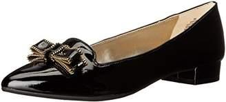 Anne Klein Women's Keana Patent Pointed Toe Flat