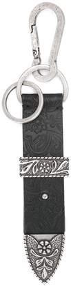 Balmain belt buckle keyring