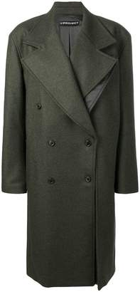 Y/Project Y / Project oversized double-breasted coat