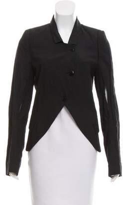 Ann Demeulemeester Asymmetrical Plaid Jacket w/ Tags
