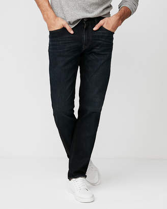 Express Slim Straight Dark Wash 100% Cotton Jeans