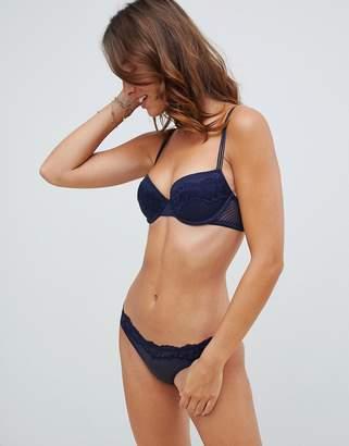 Heidi Klum Intimates t-shirt bra in black