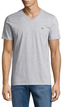 Lacoste Regular-Fit V-Neck T-Shirt