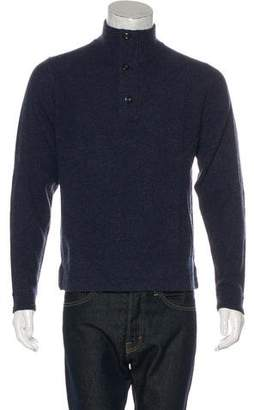 Jack Spade Wool Mock Neck Sweater