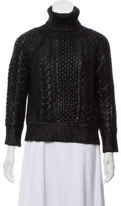Altuzarra Wool & Cashmere-Blend Turtleneck Sweater
