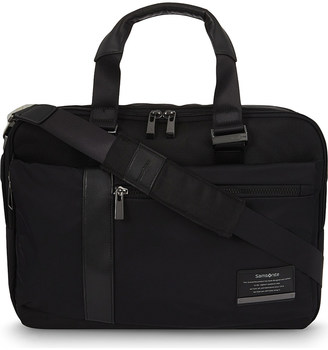 SAMSONITE Openroad nylon briefcase $126 thestylecure.com