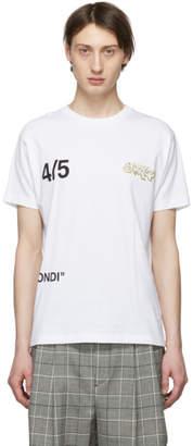 Off-White White Bus Skinny T-Shirt