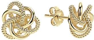 Lagos 'Love Knot' 18k Gold Stud Earrings