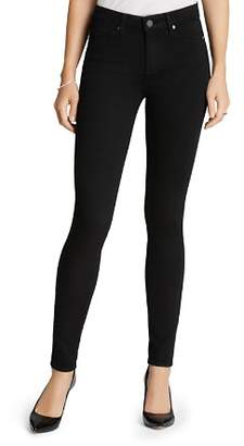 Paige Jeans - Transcend Hoxton High Rise Ultra Skinny in Black Shadow