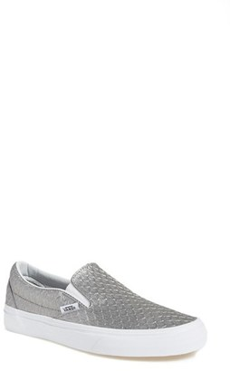 Women's Vans Classic Slip-On Sneaker $64.95 thestylecure.com