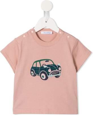 Familiar car print T-shirt