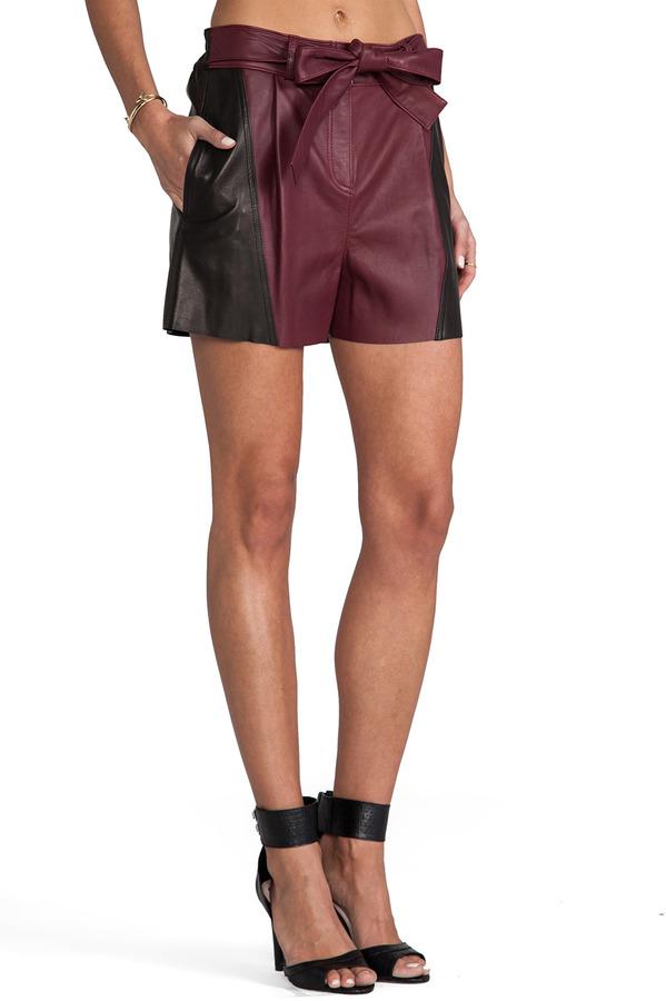 Derek Lam 10 CROSBY Belted Short