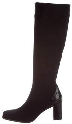 Donald J Pliner Woven Knee-High Boots