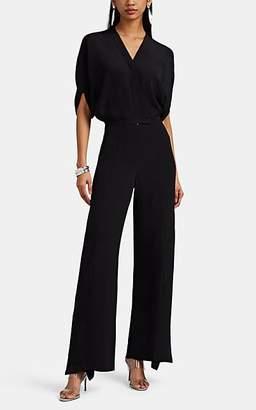 Zero Maria Cornejo Women's Fin Silk Crepe Jumpsuit - Black