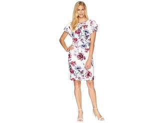 Lauren Ralph Lauren B595 Swansong Floral Latoya Day Dress Women's Dress