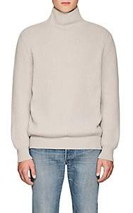 The Row Men's Jackson Rib-Knit Cashmere Sweater - Gray