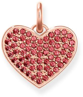 ebay pendant ruby red heart bhp