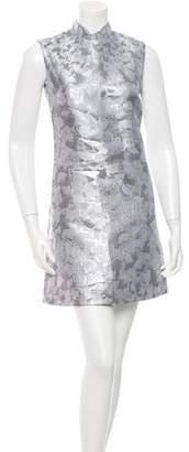 Mary Katrantzou Metallic Patterned Dress w/ Tags