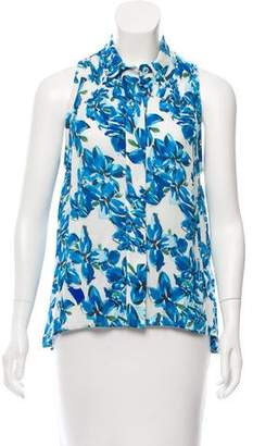 Tanya Taylor Printed Sleeveless Top