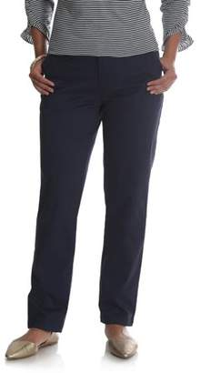 Lee Riders Women's Straight Leg Comfort Waist Pant