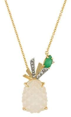 Alexis Bittar Pineapple Pendant Necklace