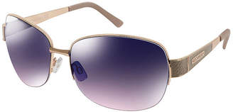 Rocawear Half Frame Square UV Protection Sunglasses-Womens