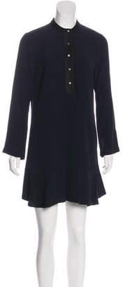 A.L.C. Long Sleeve Button Up Dress
