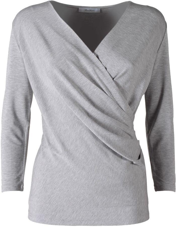 Max MaraMax Mara Caprice Wrap Jersey T-shirt